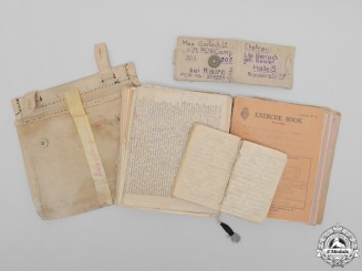 A Collection of Diaries from Camp 307 POW Lt. Max Gerlach