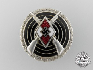 An HJ Shooting Badge by Frank & Reif