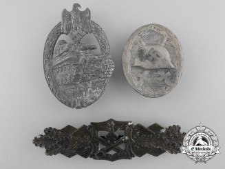 Three Second War German Badges and Insignia