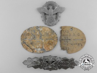 Four Second War German Badges and Insignia