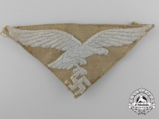 An Tropical Luftwaffe Eagle for Overseas Cap; Headgear Removed