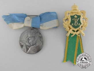 Two German Imperial Shooting Awards