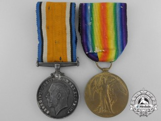 A First War Pair to 3rd Canadian Infantry Brigade Headquarters