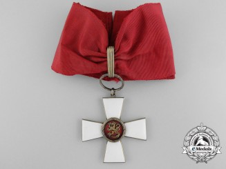 A Finnish Order of the Lion; Commander's Cross