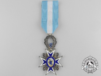 A Spanish Order of Charles III; Officer's Cross