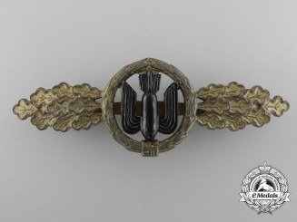 A Bronze Grade Squadron Clasp for Bomber Pilot's by  Funke & Brüninghaus