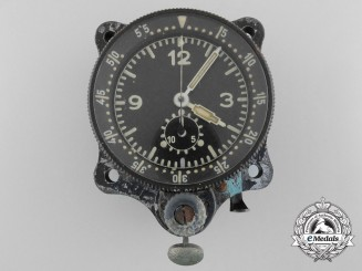 A Junghans Aircraft Clock (J30BZ) as used in ME109