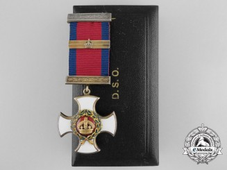 A Mint 1943 G.VI.R. Distinguished Service Order with 1944 Bar