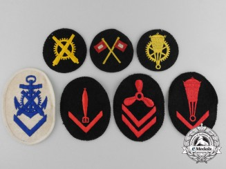 Seven Second War Kriegsmarine Badges