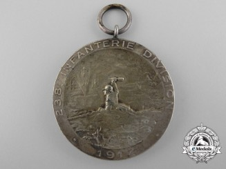 A 238th Infantry Division Memorial Medal for the Battle of Passchendaele