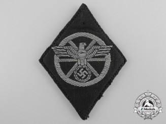 A First Pattern NSKK Drivers Arm Badge; Tunic Removed