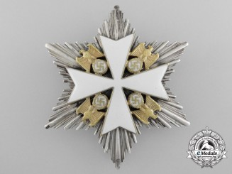 An Order of the German Eagle; Second Class Star by Godet