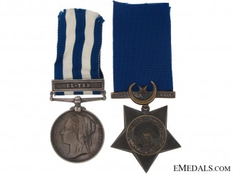 An Egypt Pair to the Royal Rifles Corps