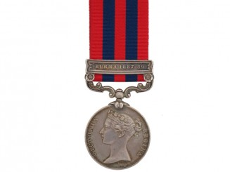 India General Service Medal 1854-1895