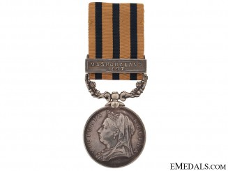 British South Africa Company's Medal, 1890-1897