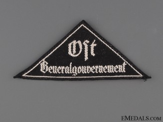 BDM District Triangle Ost Generalgovernment