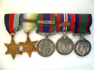 WWII  GROUP OF FIVE – NAVY