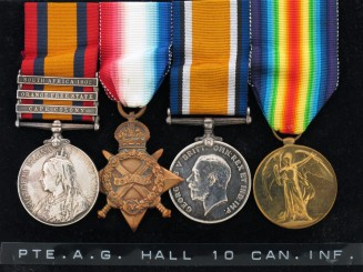 Four, A.G.Hall, 10TH Can. Inf