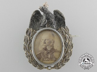 A Prussian Memorial Badge of King Wilhelm I