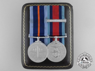 A Second War Bomber Command & Normandy Campaign Medal Pair