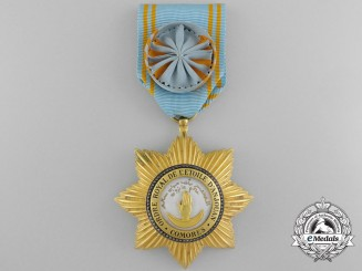 A Royal Order of the Star of Anjouan; Officer
