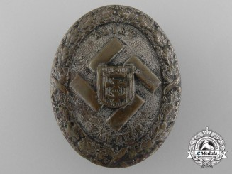 A Rare Gau Danzig Commemorative Badge 1939