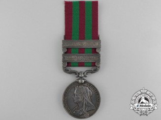 An 1895-1902 India Medal to the Royal Irish Regiment