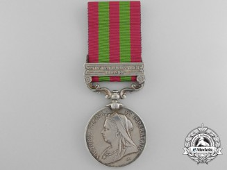 A 1896 India Medal to the 2nd Highland Light Infantry