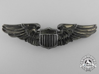 A Second War American Army Air Force Pilot Badge
