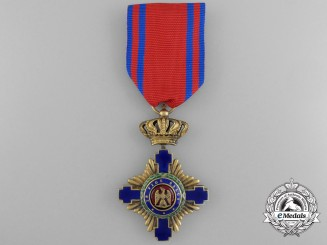 An Order of the Star of Romania, Knight, Type I (1877-1932)