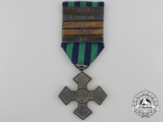 A First War Romanian Commemorative Cross 1916-1918; 5 Clasps