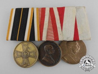 An Austrian Second War Merit Cross Medal bar