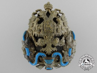 A Russian Imperial Badge for Medical Doctors with the Degree of General Practitioner