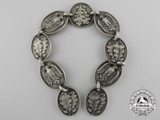 An Army Standarte Bearer's Gorget Chain Section