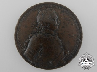 A 1757 Frederick the Great Battle of Prague Victory Medal