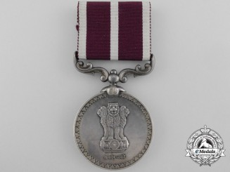 An Indian Army Meritorious Service Medal
