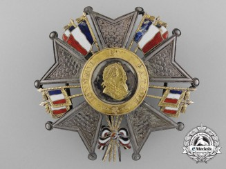 A French Legion D'Honneur; Grand Officer's Breast Star; King Louis-Philippe (1830-1848)