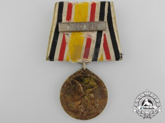 A German Imperial Chinese Boxer Rebellion Campaign Medal; Tientsin