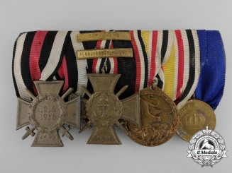 A German Imperial Naval Chinese Boxer Rebellion Medal Bar