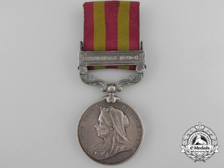 An 1898 India Medal to the 32nd Sikh Pioneers