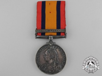 A South Africa Service Medal to the 1st Seaforth Highlanders