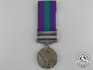 A 1962 General Service Medal to the 52nd Sikhs