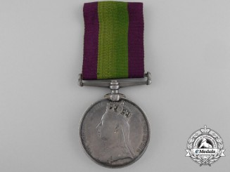 An Afghanistan Campaign Medal to the 5th Fusiliers