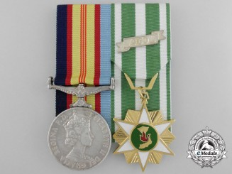 A Pair to Geoff Shaw; An Aboriginal Order of Australian Recipient who Fought in Borneo & Vietnam