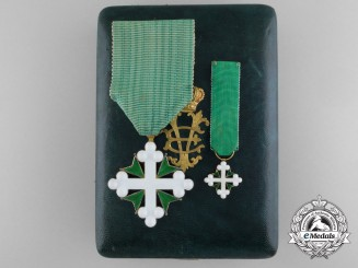 An Italian Order of St. Maurice and St. Lazarus by Gardino c.1930
