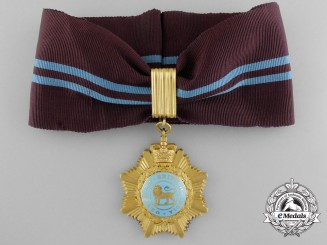 An Order of British India in Gold; Second Class
