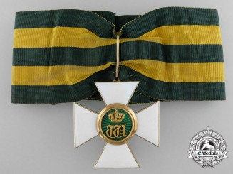 An Order of the Oak Crown of Luxemburg; Commander in Gold