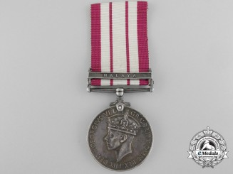A Naval General Service Medal to Boy First Class for Service in Malaya