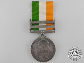 A King's South Africa Medal to the Scots Guards
