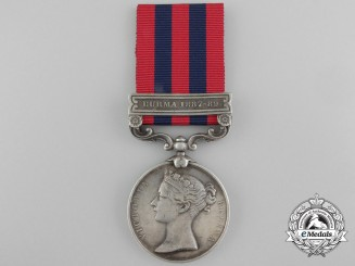 An India General Service Medal to the 1st Bengal Mountain Battalion